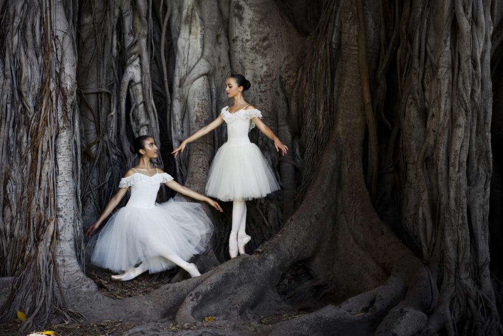 Gloria e Manila Ballerine danza classica
