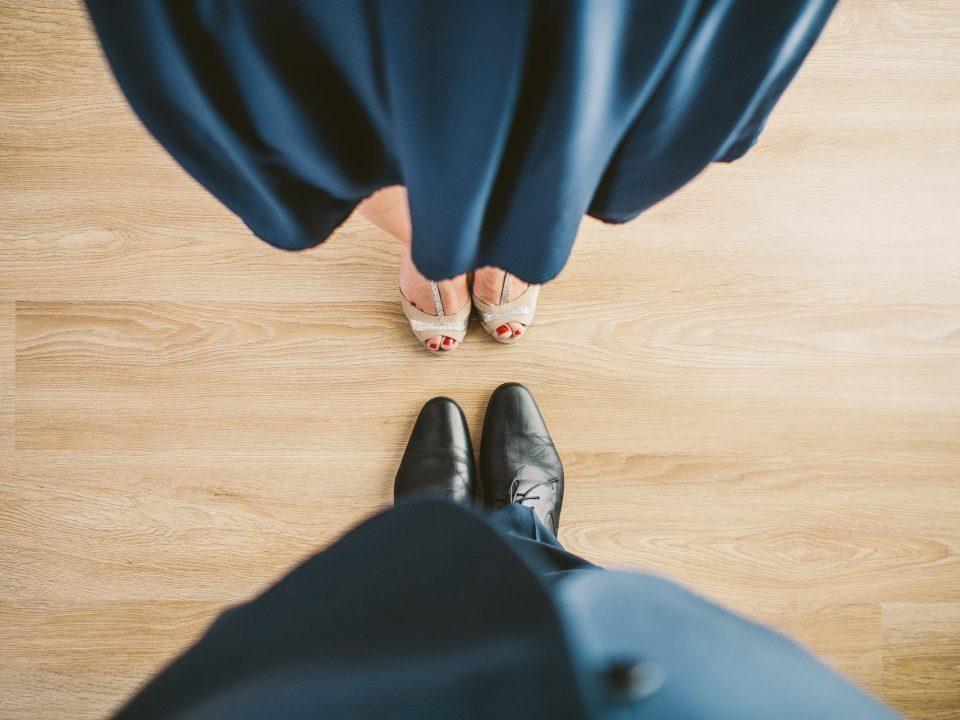 piedi di ballerini