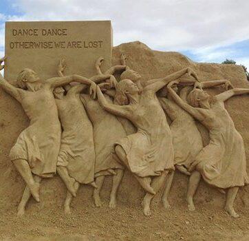 ballerine di sabbia